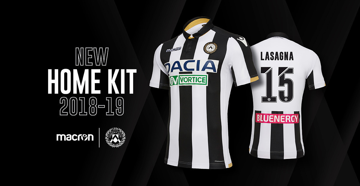 Udinese Calcio Home Kit 2018/2019